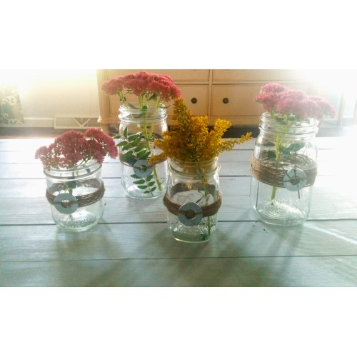 Medium Crop Of Mason Jar Centerpieces