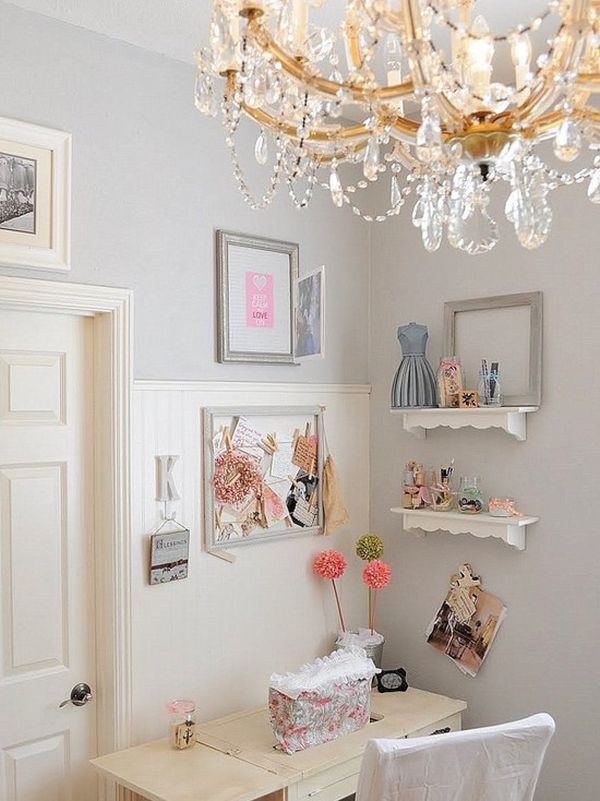Ikea Breakfast Feminine, Shabby Chic Nook Ideas For Your Home
