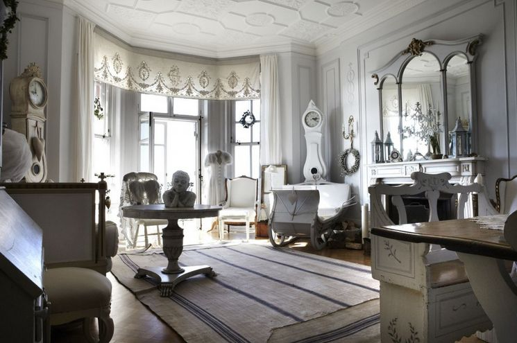 52 Ways Incorporate Shabby Chic Style into Every Room in Your Home - country chic living room