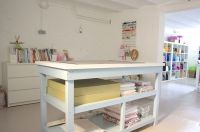 Craft Tables With Storage Attempting To Organize Your ...
