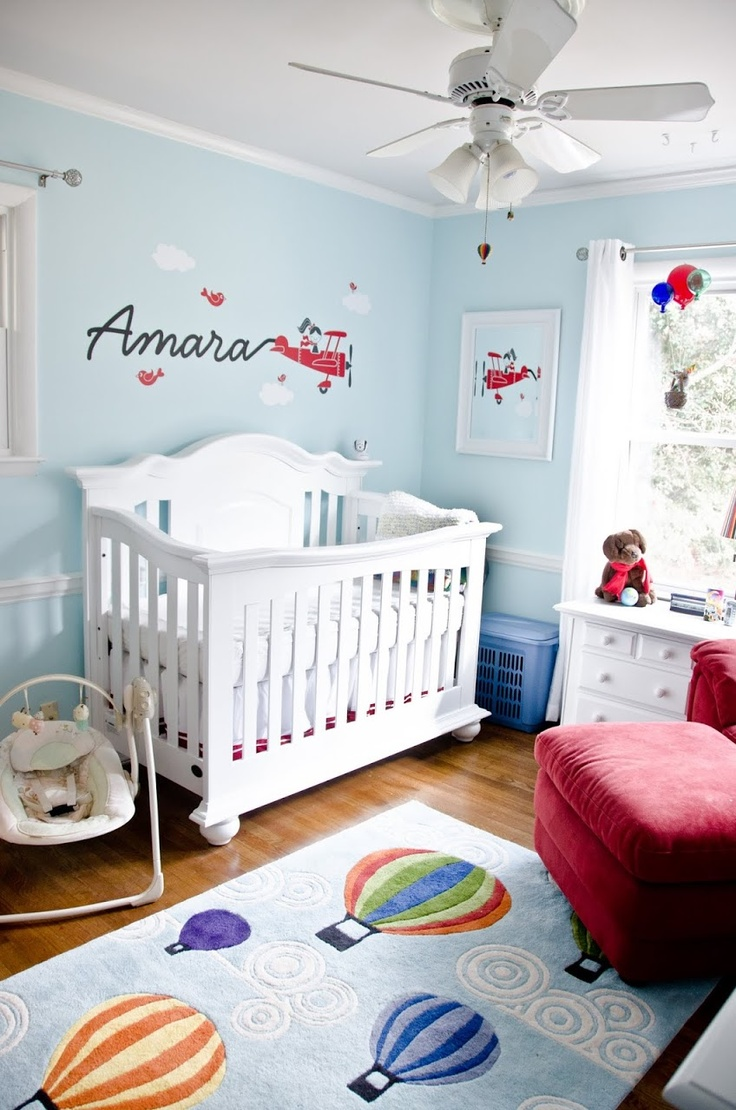 Wallpaper For Baby Girl Bedroom Hot Air Balloon Inspired Decorations That Will Take You