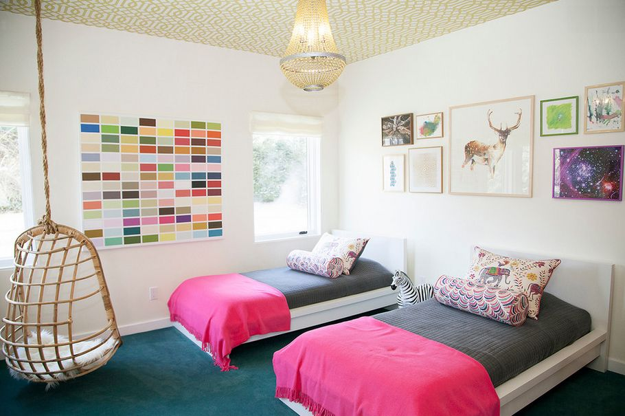 Beautiful, Eclectic Little Boys and Girls Bedroom Ideas - boy and girl bedroom ideas