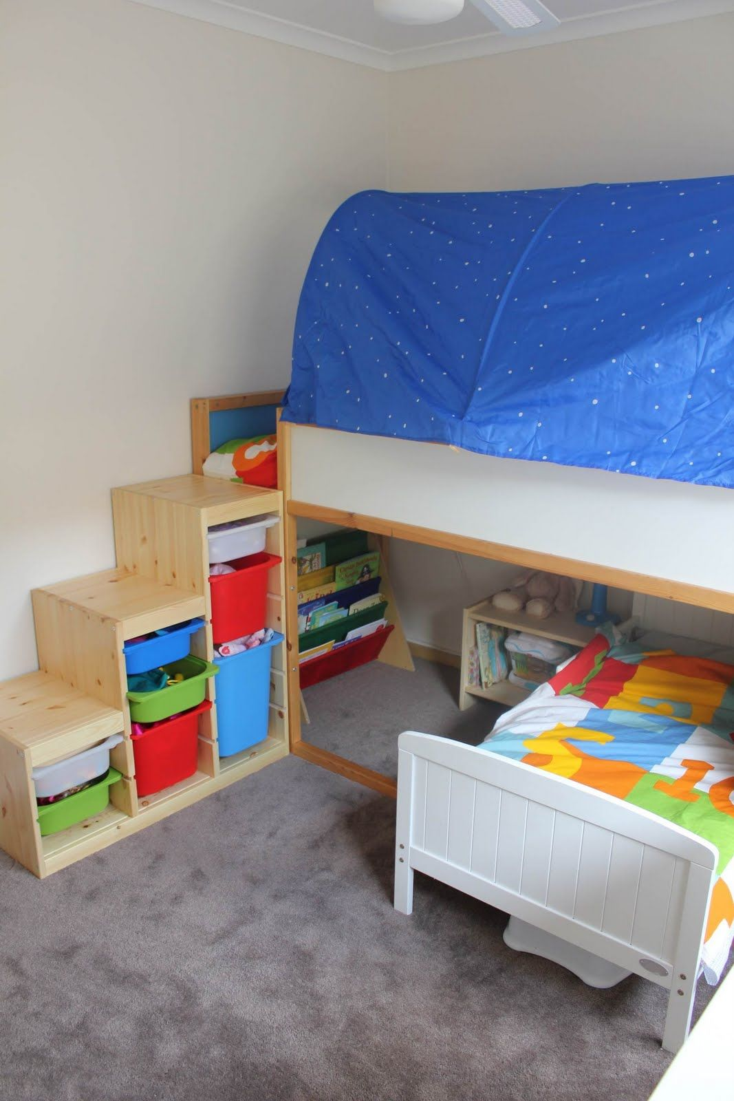 Beds And Beds Toddler Bunk Beds That Turn The Bedroom Into A Playground