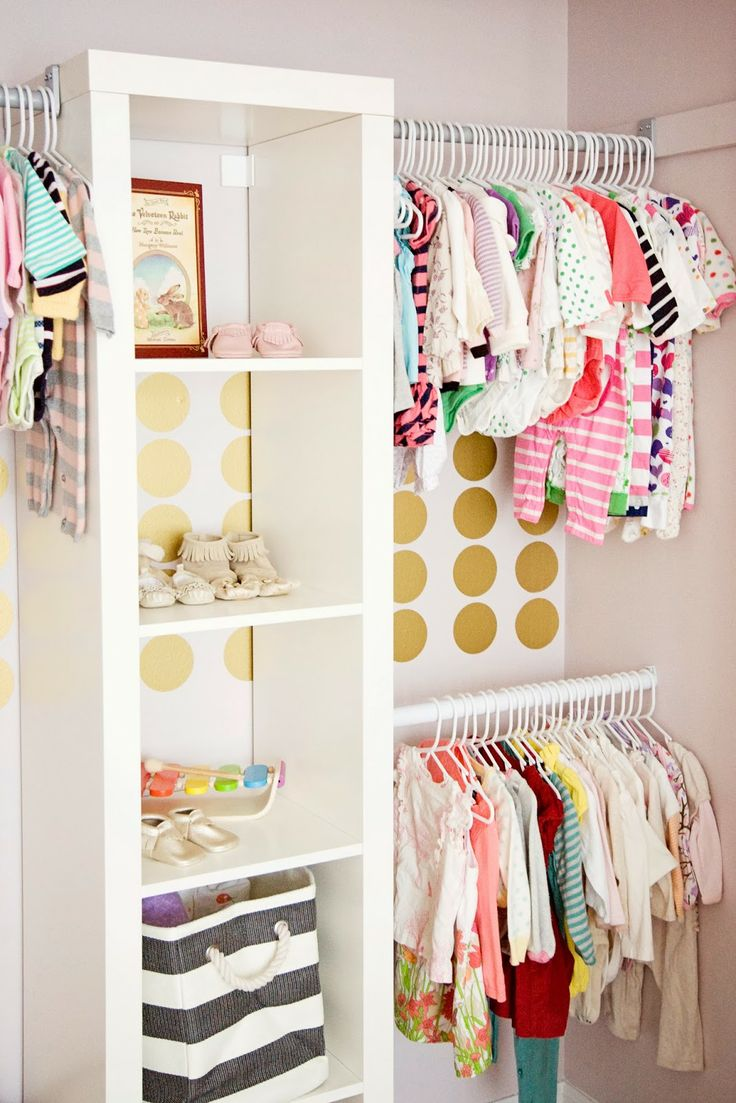 Kleiderschrank Offen Ikea Organizing The Baby's Closet: Easy Ideas & Tips