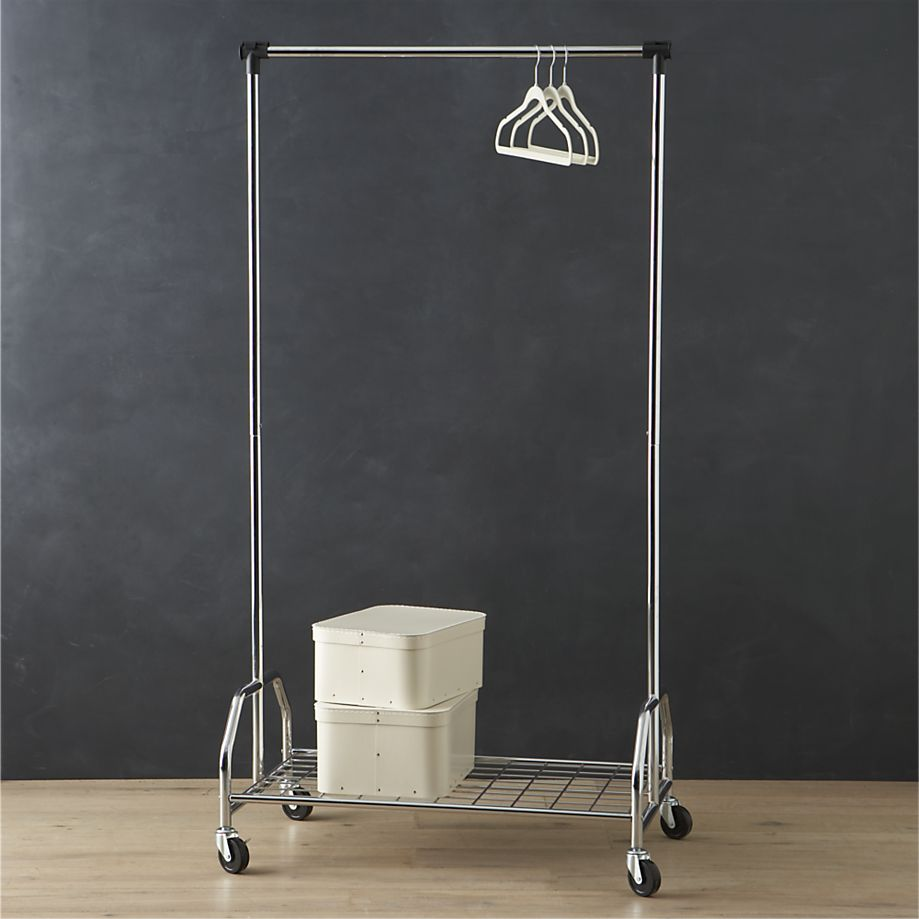Rolling Rack Keep Your Wardrobe In Check With Freestanding Clothing Racks
