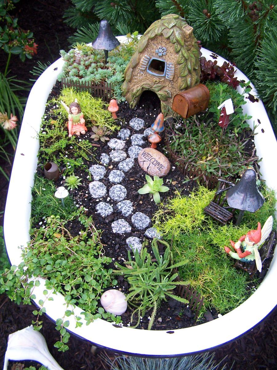 Grande Unleash Your Imagination Magical Fairy Garden Designs Fairy Garden Planter Boxes garden Fairy Garden Planter Box