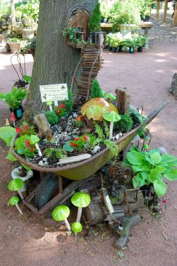 Small Of Natural Fairy Garden