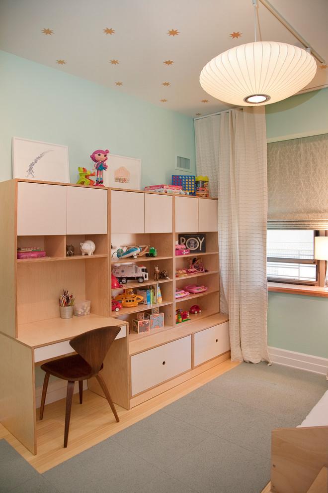 Trendy Desk Designs For The Children's Rooms