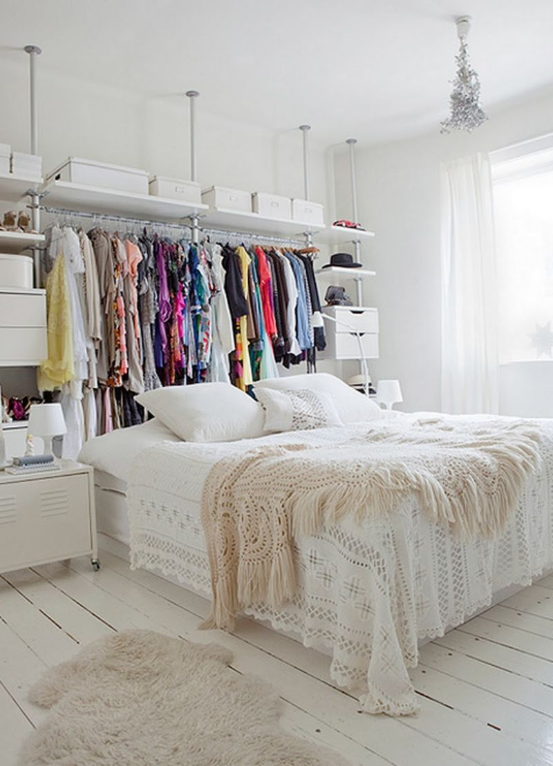 Bedroom Clothes Storage Keep Your Wardrobe In Check With Freestanding Clothing Racks