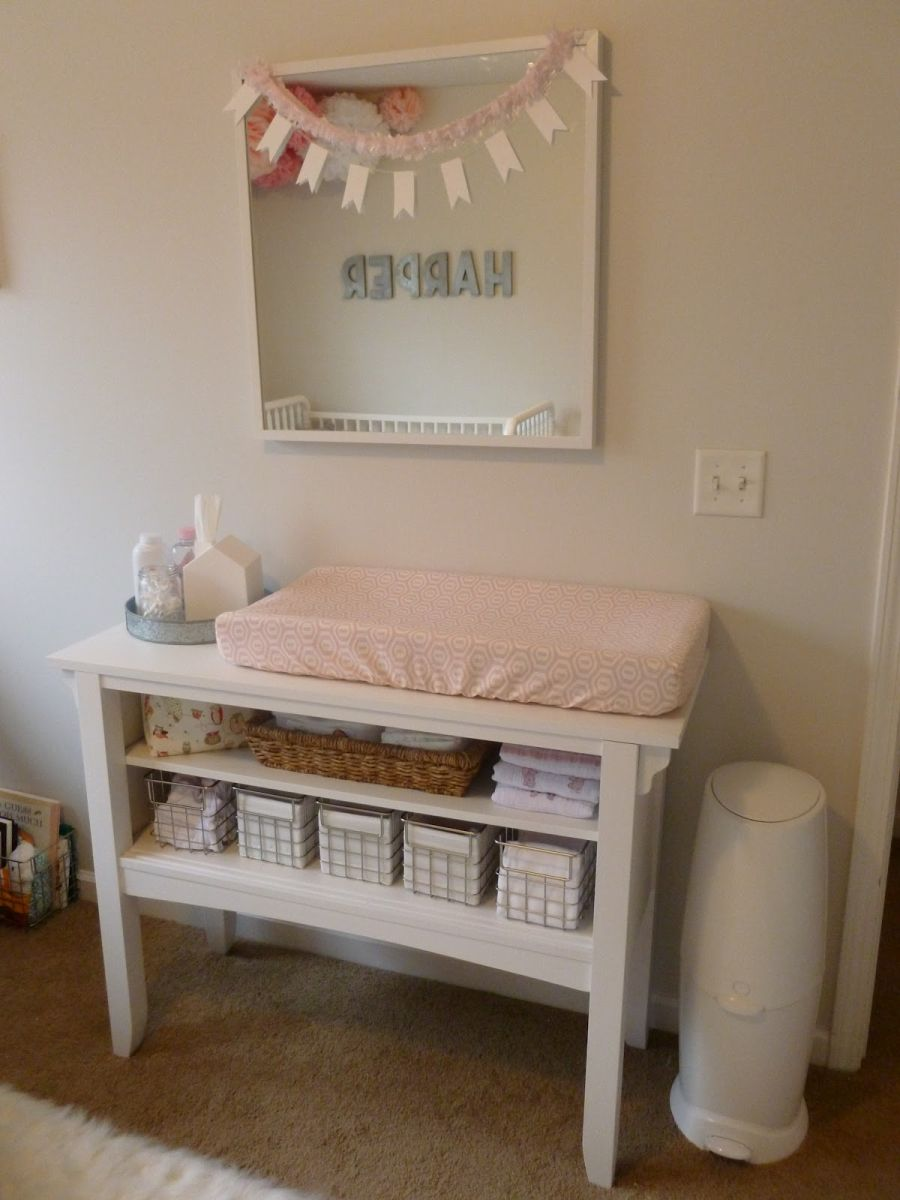 Changing Table Side Shelf Online