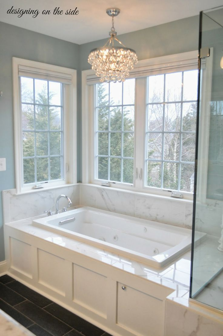 built in tub ideas