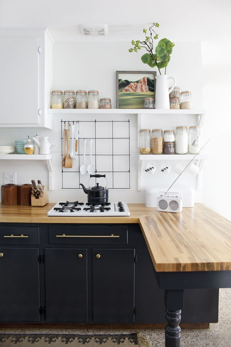 black kitchen cabinets black kitchen cabinets Black Cabinets with Gold Hardware