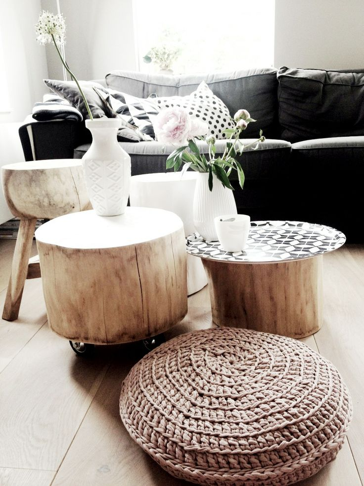 Couchtisch Tree Bring Raw Beauty Into Your Home With Tree Trunk Tables