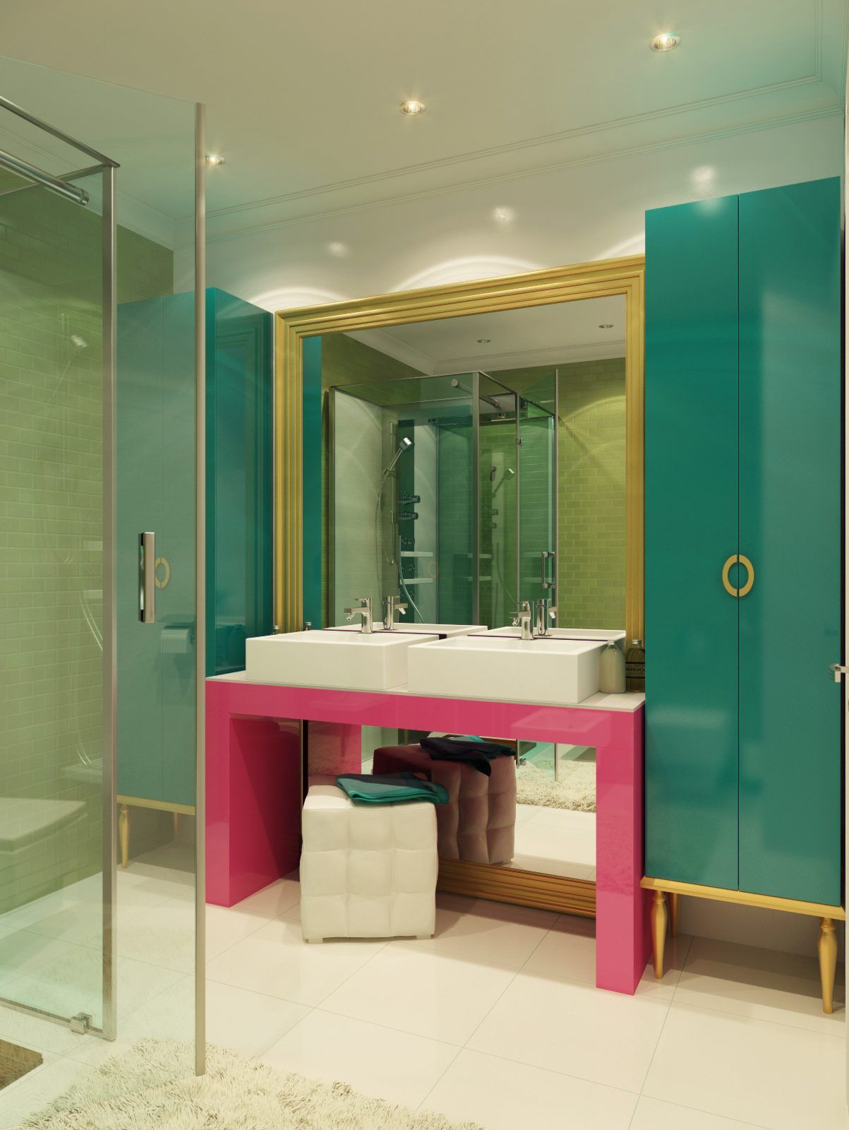 40 Bathroom Color Schemes You Never Knew You Wanted