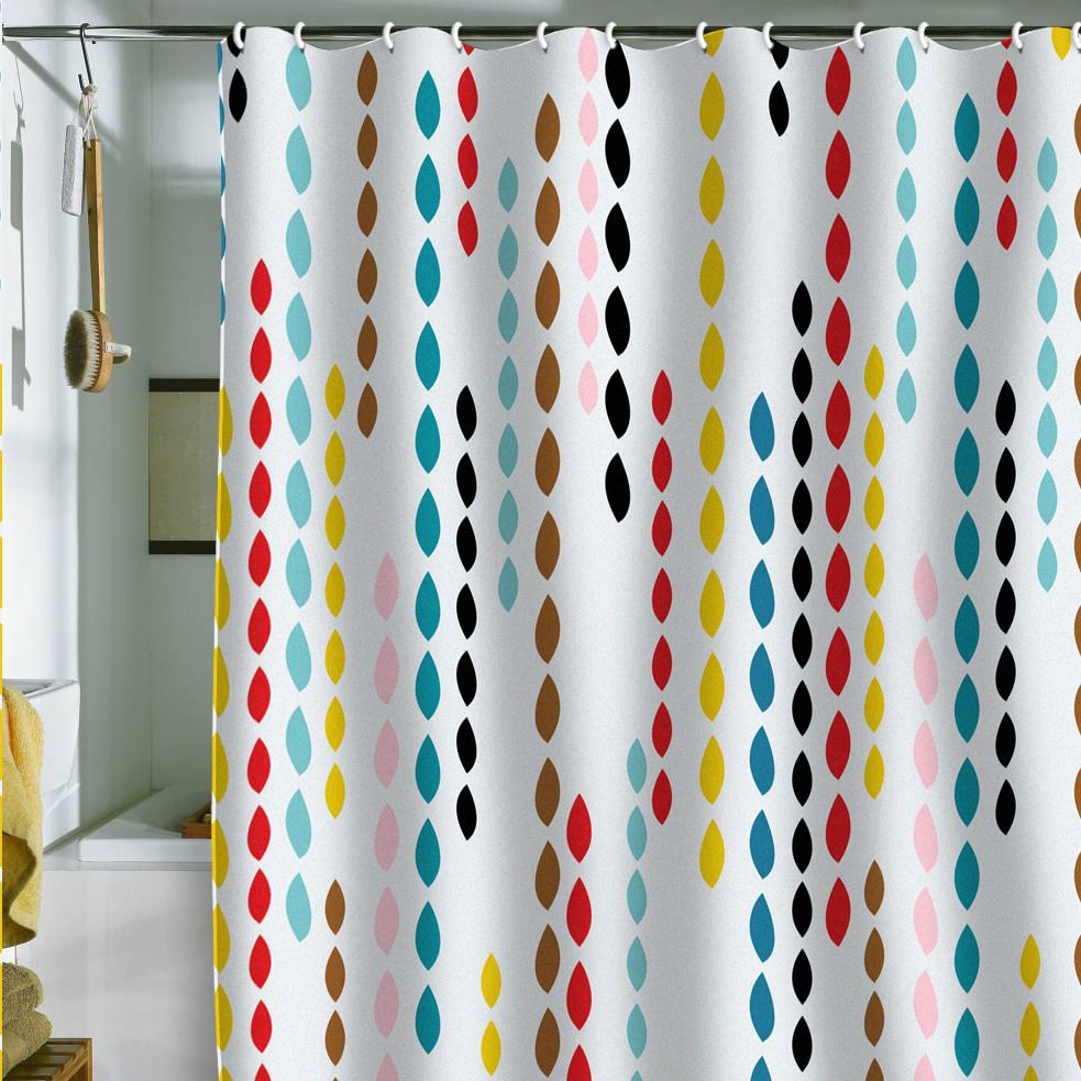 Cool shower curtains for kids - Modern Shower Curtain For Kids