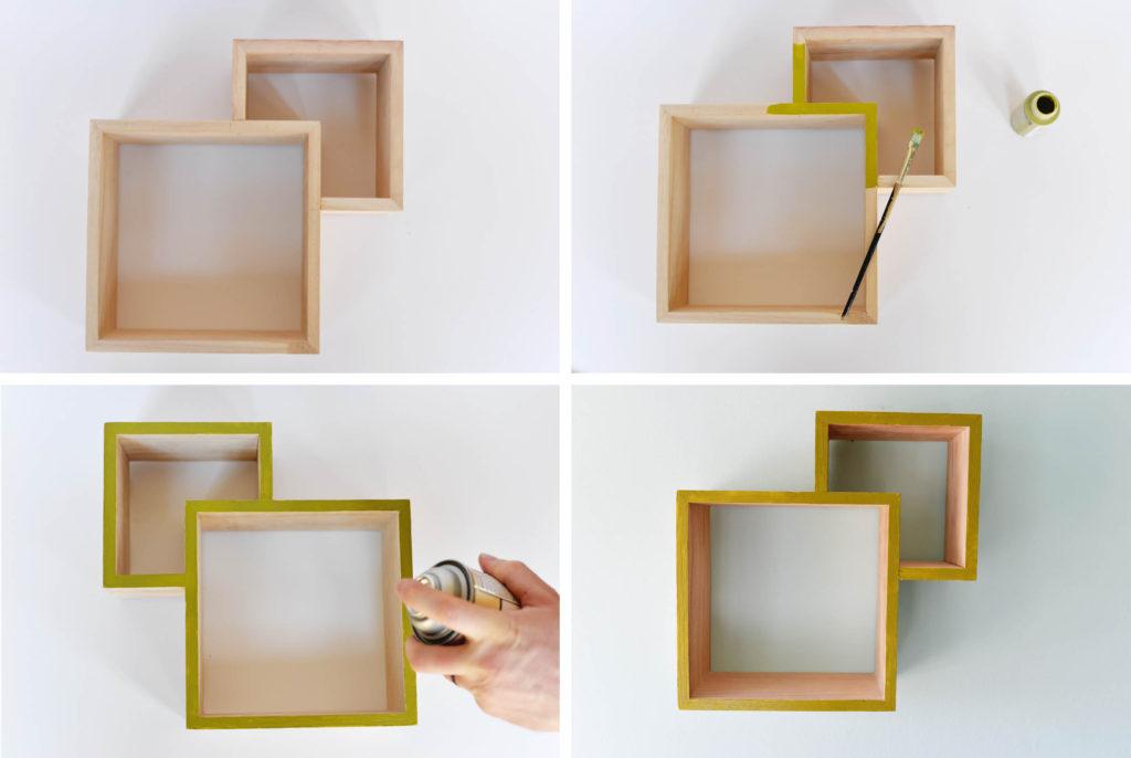 Diy Double Box Shelf