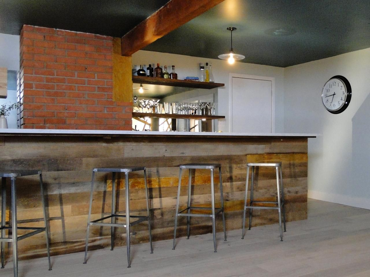Countertops For Bars Clever Basement Bar Ideas Making Your Basement Bar Shine