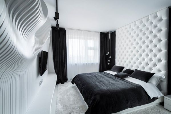 Moderne Slaapkamer Wit 35 Timeless Black And White Bedrooms That Know How To
