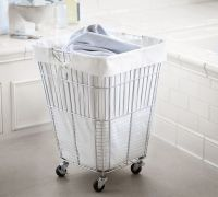 Stay Practical Using Laundry Baskets On Wheels