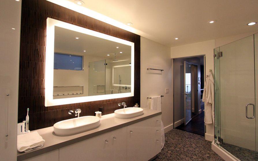 How To Pick A Modern Bathroom Mirror With Lights - bathroom vanity mirror ideas