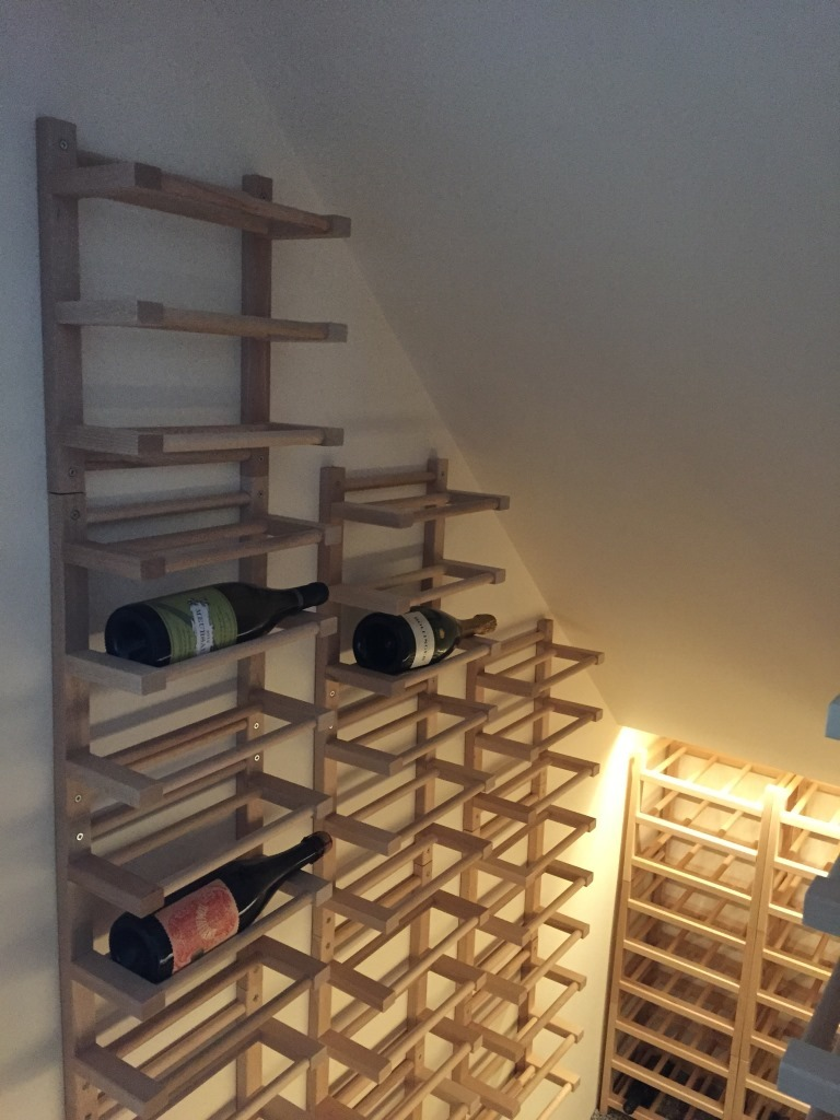 Diy Range Bouteille How To Combine Ikea Items To Build Your Own Wine Rack