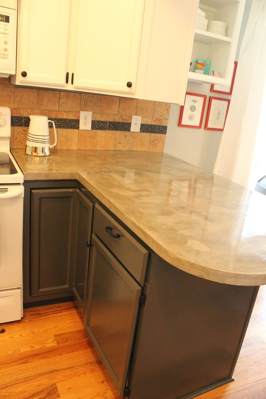 Concrete Countertops Mn Diy Concrete Kitchen Countertops A Step By Step Tutorial