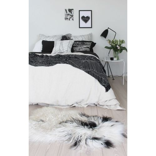 Medium Crop Of Black And White Bedding
