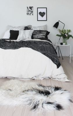 Small Of Black And White Bedding
