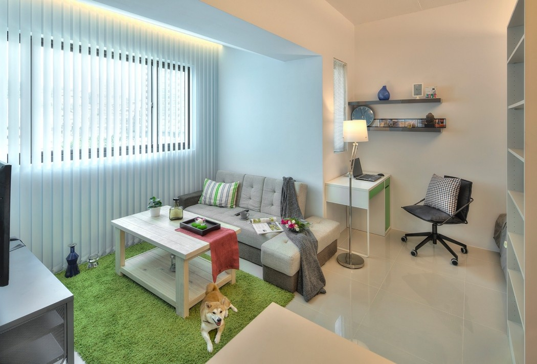 Mini Zimmer Einrichten Tiny Taipei Flat Full Of Clever Design Strategies