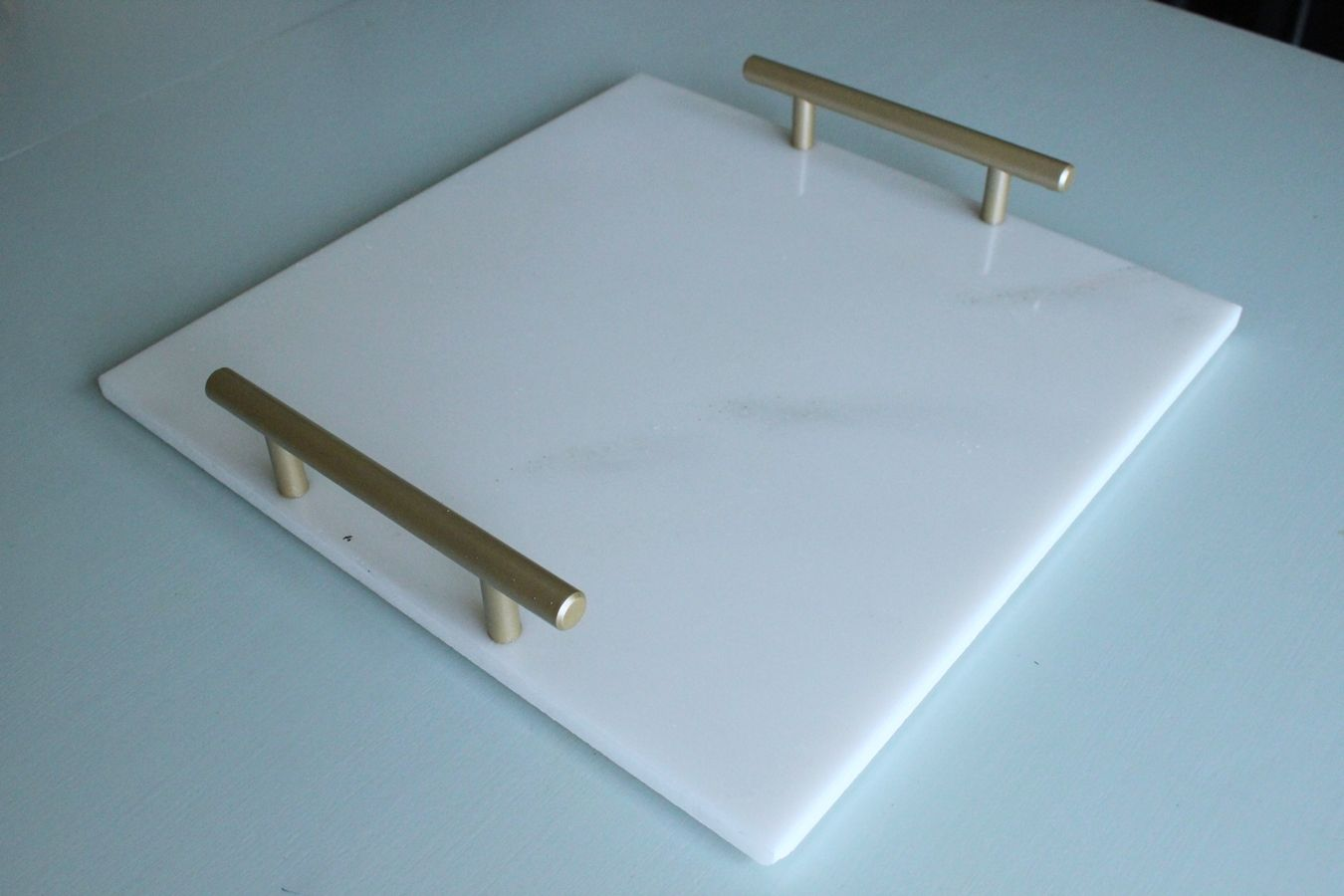 Long Cabinet Pulls Diy Marble Tray: Sophisticated Elegance At Your Fingertips