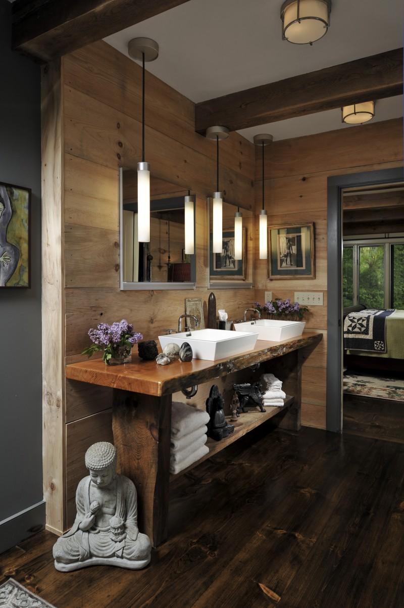 Reclaimed wood bathroom countertop - Reclaimed Wood Bathroom Countertop Bespoke Bathrooms Download