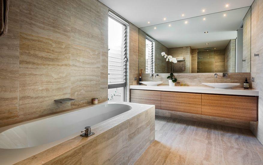 20 Functional \ Stylish Bathroom Tile Ideas - bathroom tile ideas