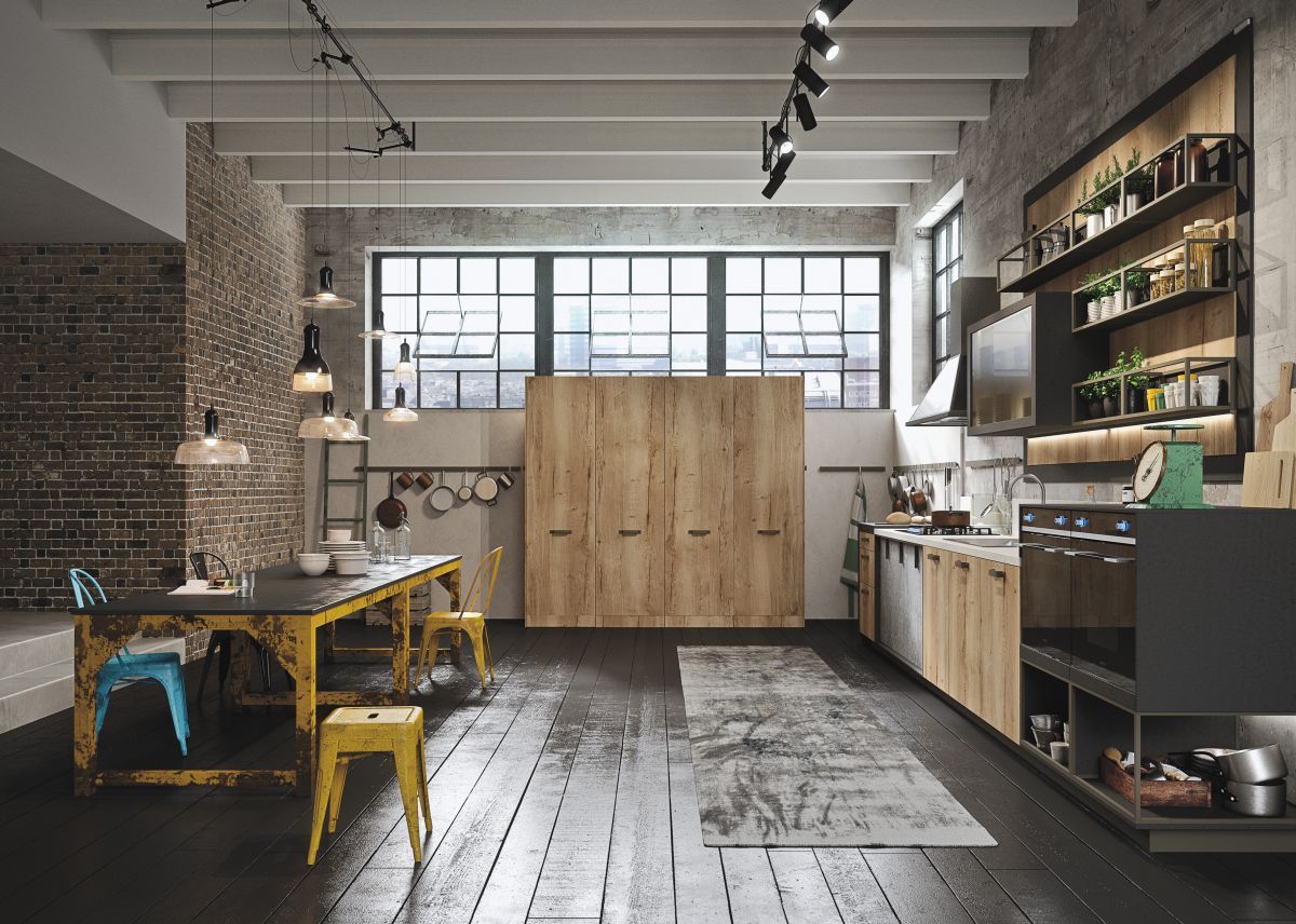 Küche Industrial Design Industrial And Rustic Designs Resurfaced By The New Loft Kitchen