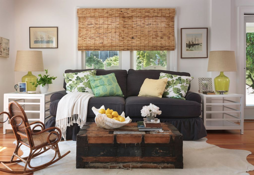 Different Ways to Style An End Table - living room end table