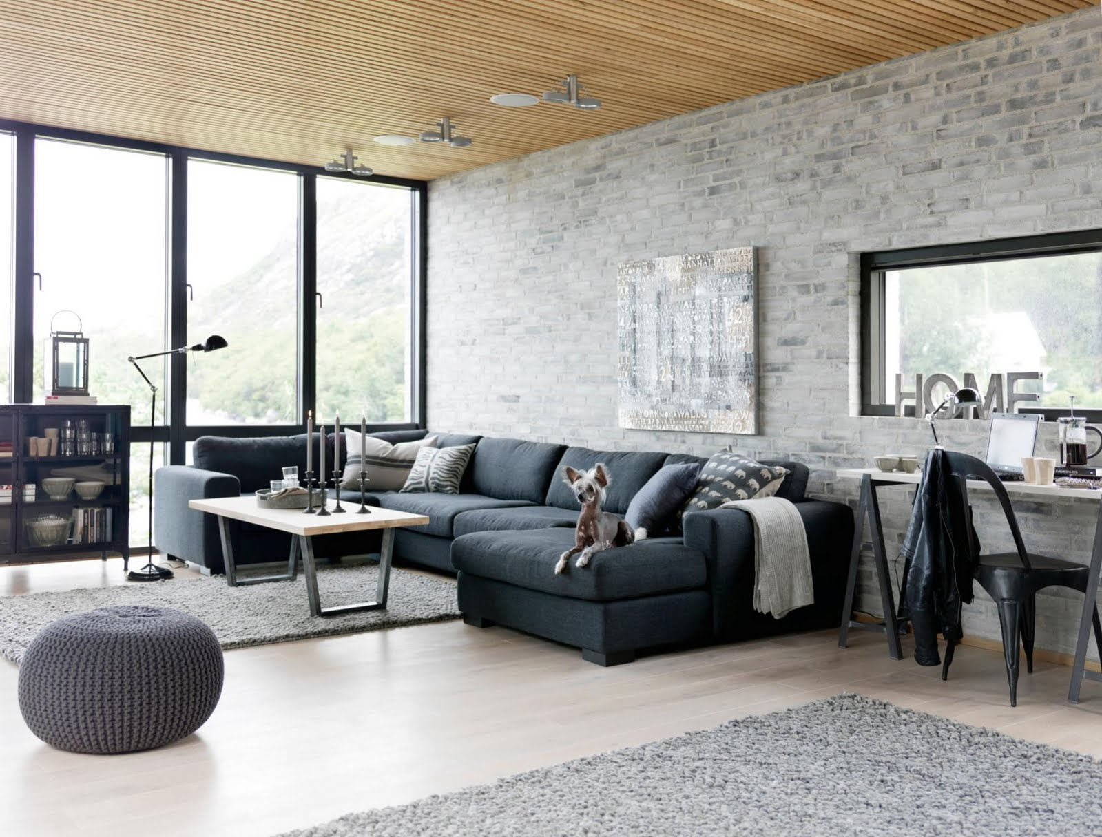 Vorhänge Industrial Living Room Furniture Ideas For Any Style Of Décor