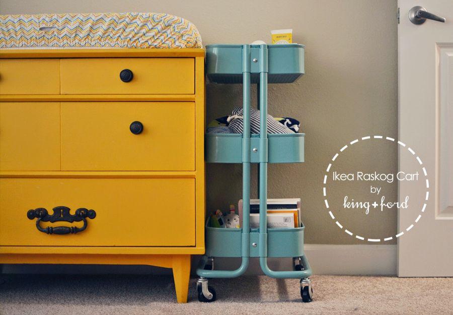 Wood Storage ... & Baby Storage Cart - Listitdallas