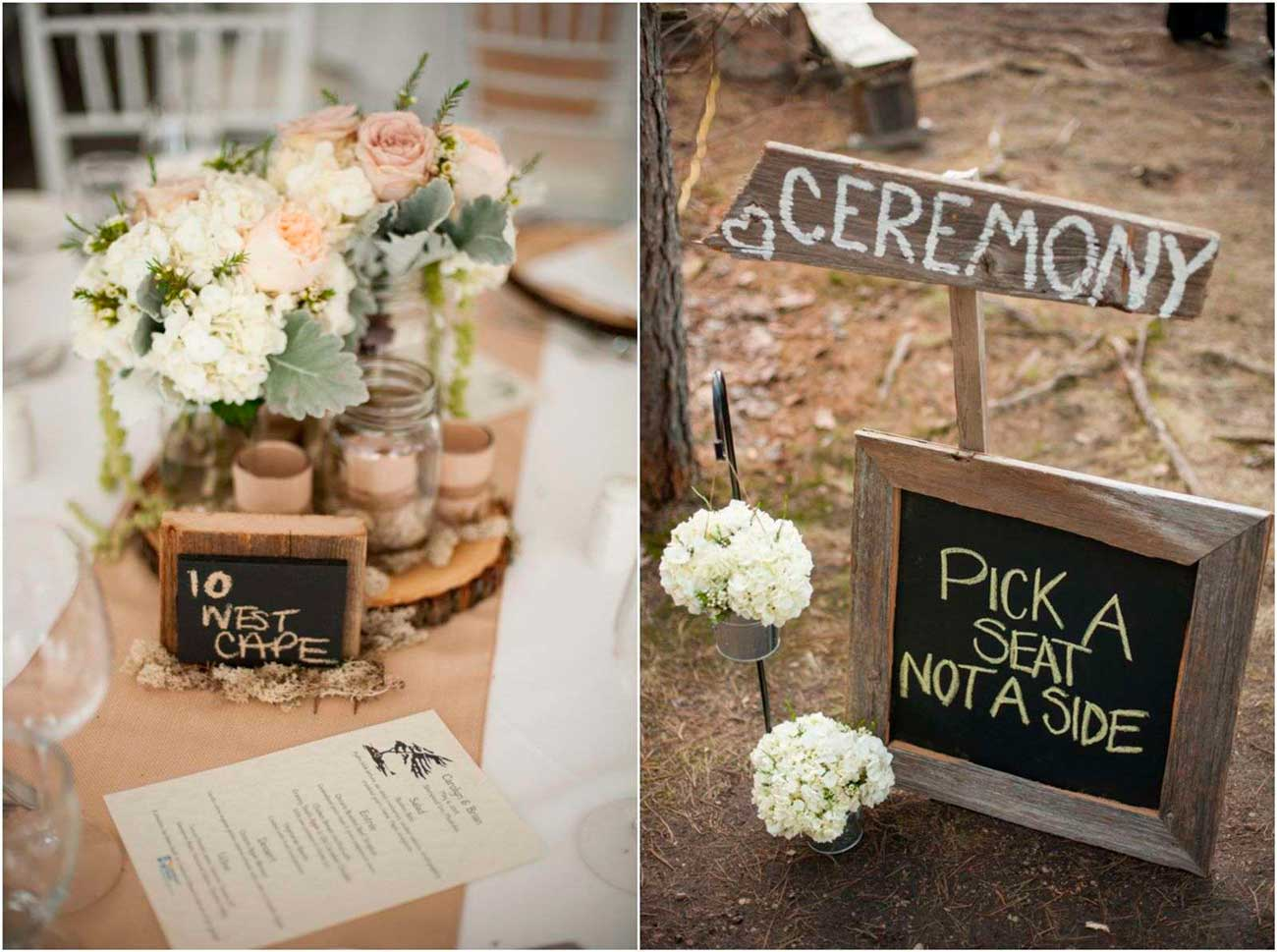 Rustic Decorating Ideas Graduation Say I Do To These Fab 51 Rustic Wedding Decorations