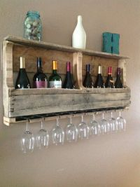 Clever Ways Of Adding Wine Glass Racks To Your Home's Dcor