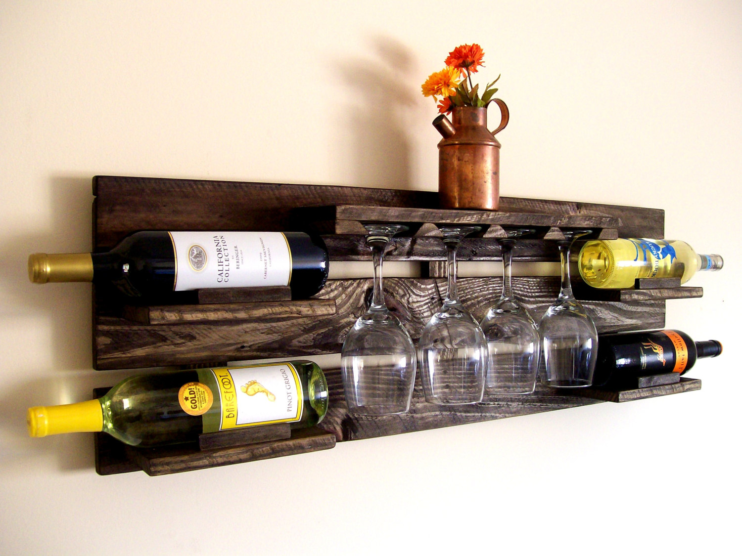 Diy Wine Storage Ideas Clever Ways Of Adding Wine Glass Racks To Your Home S Décor
