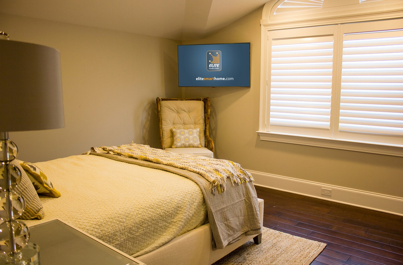 How High To Mount Tv On Wall In Bedroom When And How To Place Your Tv In The Corner Of A Room