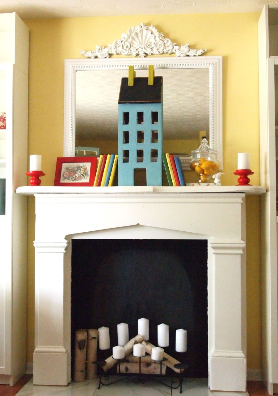 Fake Fireplaces For Decoration Beautiful Ways To Style Decorate A Faux Fireplace