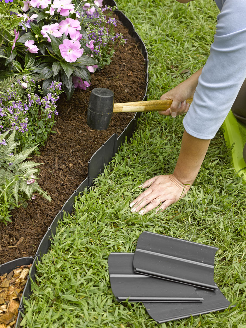Garden Stone Edging Garden Edging How To Do It Like A Pro