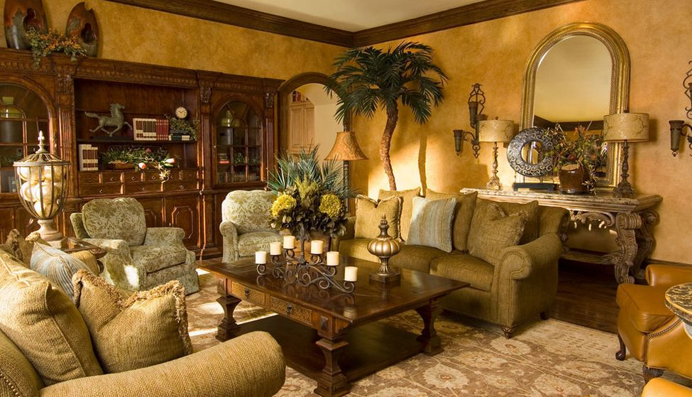 Living Room Furniture Ideas for Any Style of Décor - tuscan style living room