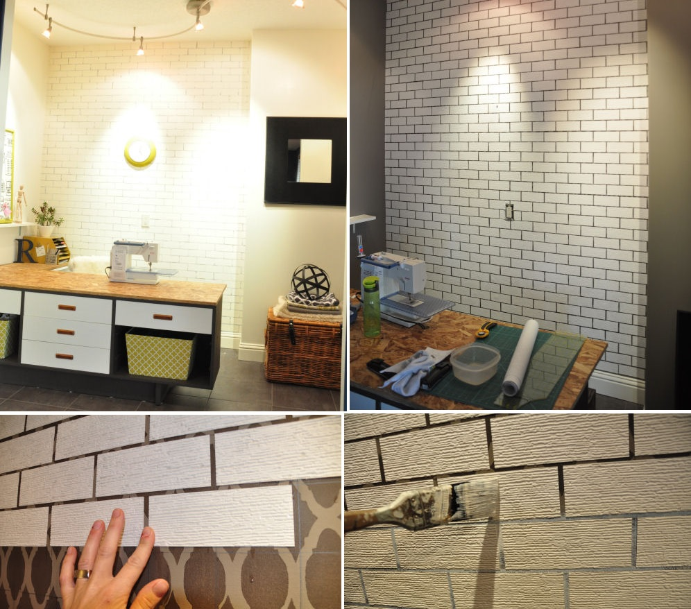 Brick Wall Design Simple Ways To Recreate The Look Of Real Exposed Brick Walls