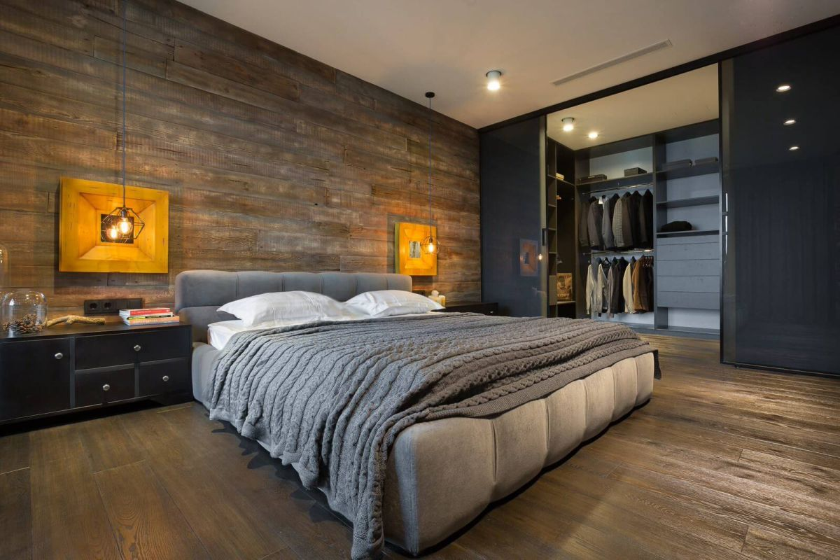 Bachelor Bedrooms Ideas Beautiful Bachelor Pad Designed Like A Big Puzzle