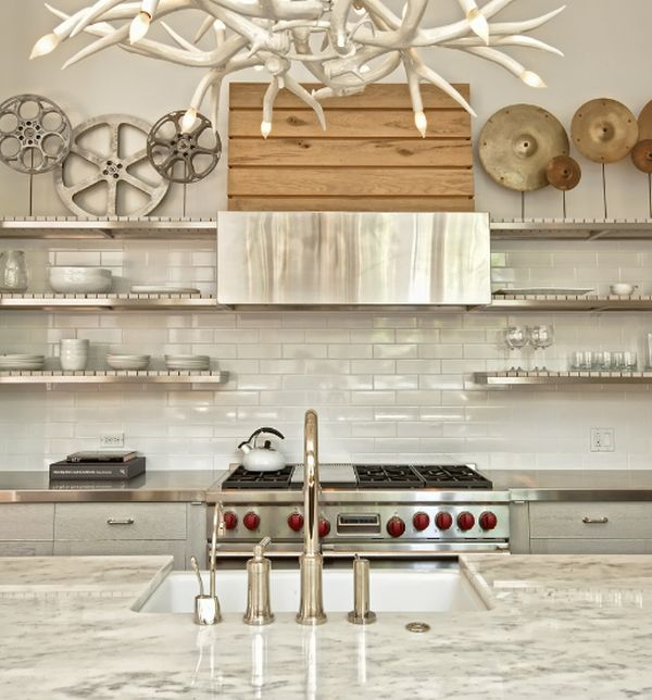 stainless steel surfaces small kitchen larger small eat kitchen option extension