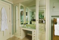 Corner Dressing Table With Mirror