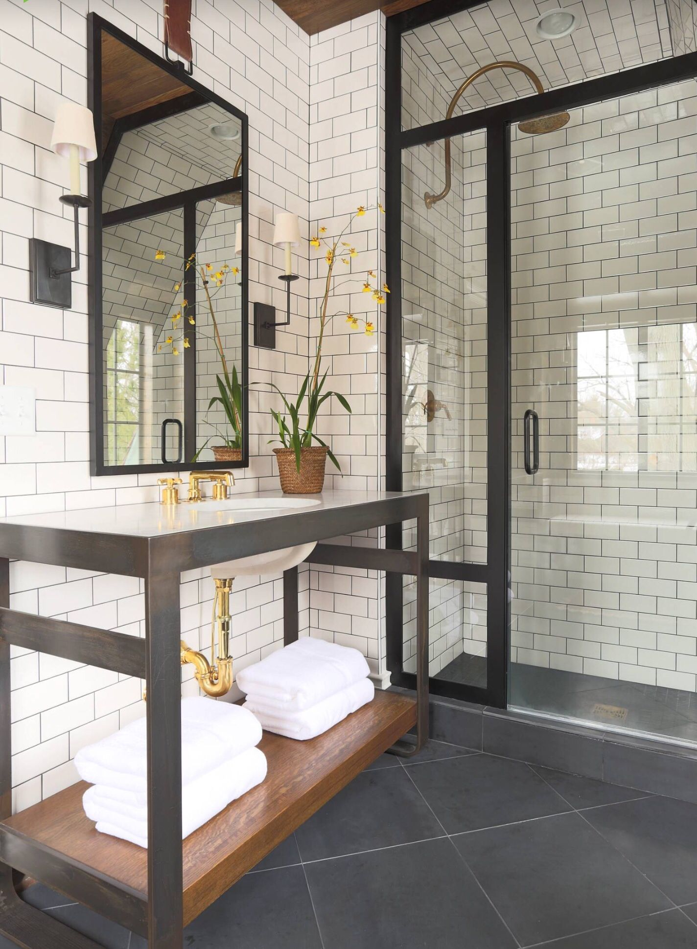 Subway Tiled Bathrooms Gorgeous Variations On Laying Subway Tile
