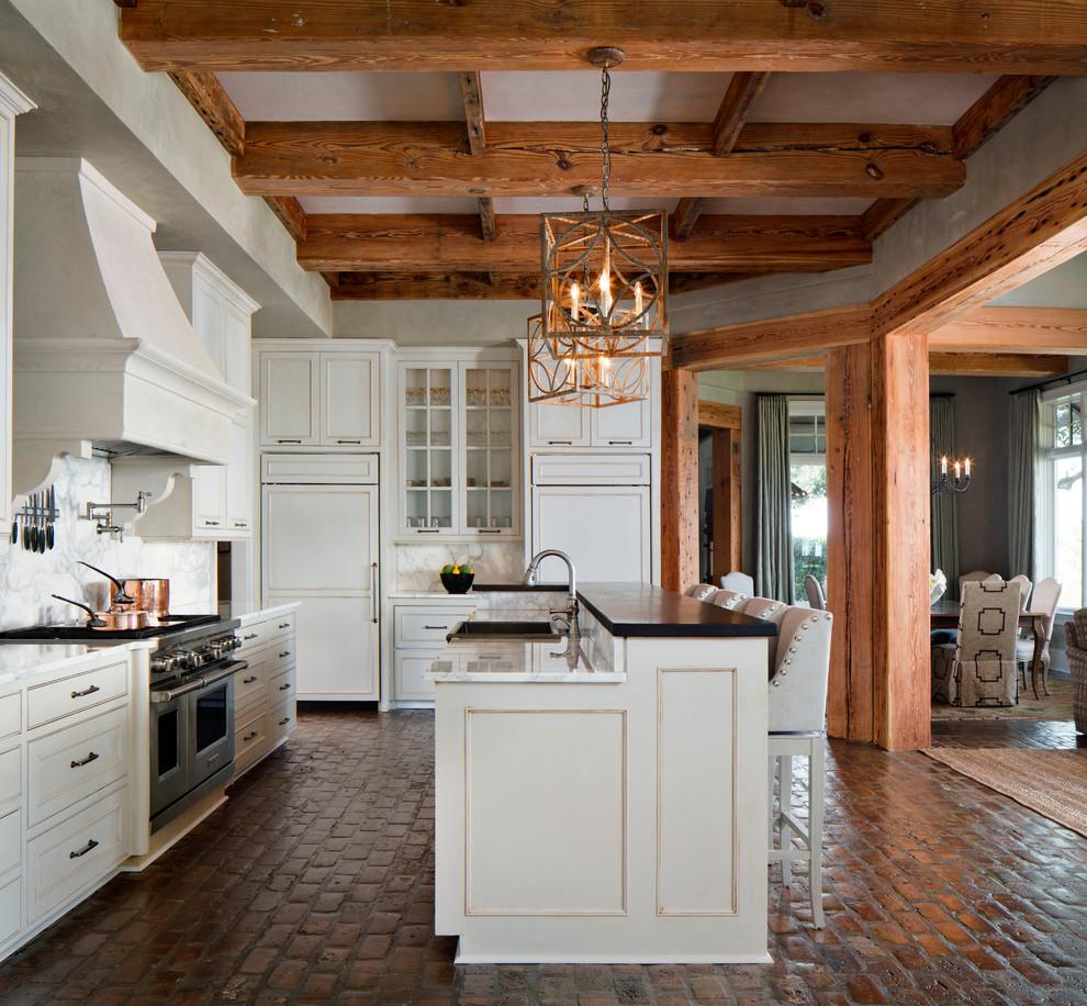 best options for kitchen flooring gray kitchen floor Brick floor kitchen