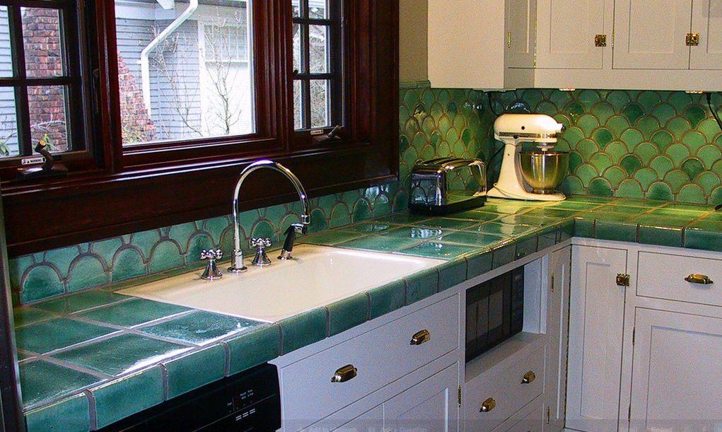 tile countertops comeback options kitchen countertops backsplash show luxurious kitchen